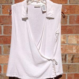 White Stag Women's Size Medium 8/10 Blouse